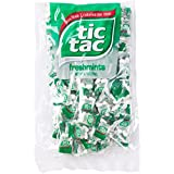 tic tac Freshmint Pillow Pack, 100 Count bag (Pack 3) 300 individually wrapped packs of 4 mints each