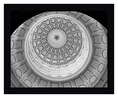 The Texas Capitol Dome, Austin Texas - Black and White by Carol Highsmith - 27