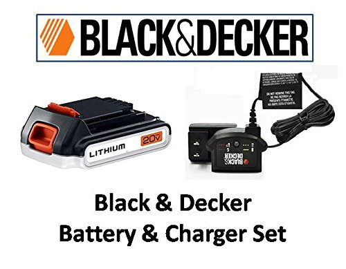 black and decker 18v set - 2