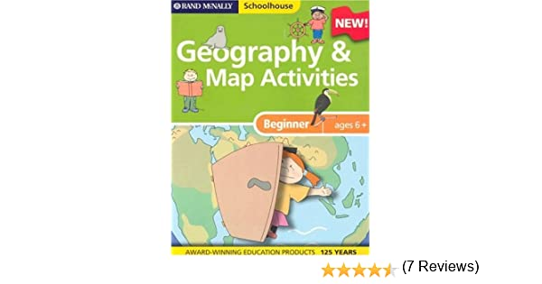 Workbook continents for kids worksheets : Amazon.com: Rand McNally Schoolhouse Beginner Geography & Map ...
