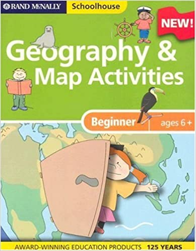Amazon.com: Rand McNally Schoolhouse Beginner Geography & Map ...