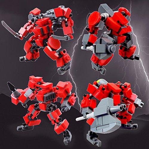 Mecha Series Fit For MOBILE FRAME ZERO Game- Seller¡¯s Designs Fit for Legos little Robot Set Building block parts