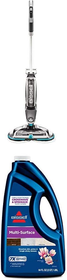Bissell Spinwave Cordless + MultiSurface Formula