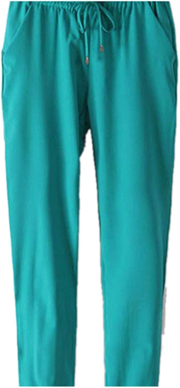 Perfectme Clothing Women Casual Loose Pants Solid Elastic Harem Waist Chiffon Pants Trousers