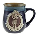 Stoneware Piping Hot Mug Featuring A Sco
