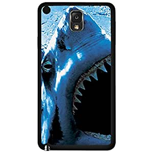 Shark Close up Hard Snap on Phone Case (Note 3 III)