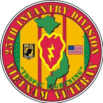 25th infantry division decals - 8