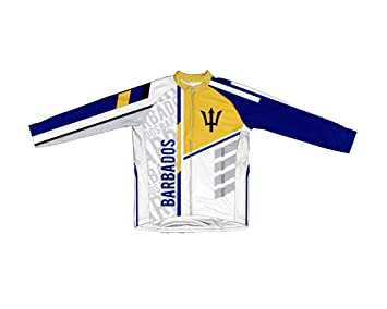 219548538 Amazon.com   ScudoPro Barbados Long Sleeve Cycling Jersey for Men ...