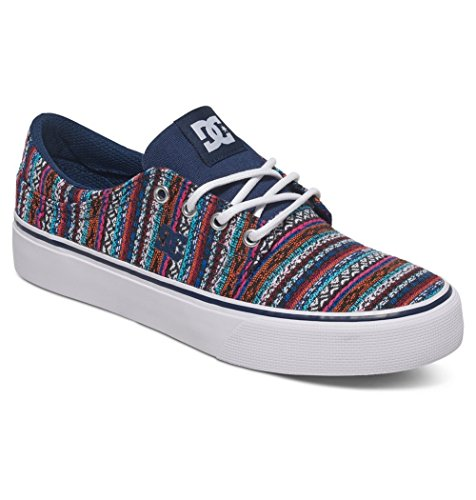 DC Womens Trase LE Shoes 6.5B Navy
