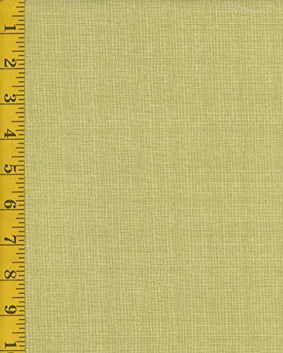 Cotton Quilt Fabric - Henry Glass Celebrating Christmas by Anni Downs: Woven Texture - Green (Glass Quilt)