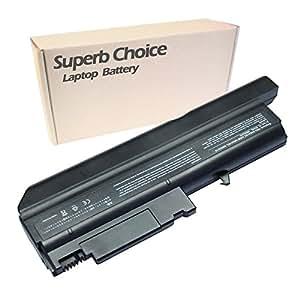Superb Choice - Batería de reemplazo del ordenador portátil para IBM LENOVO 92P1060 92P1061 92P1069 08K8190, 6600 mAh 9 celdas