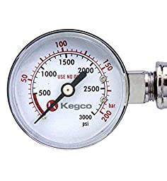Kegco KC LH-542-2 Dual Product Premium Pro Series Dual Gauge Co2 Beer Regulator, Chrome