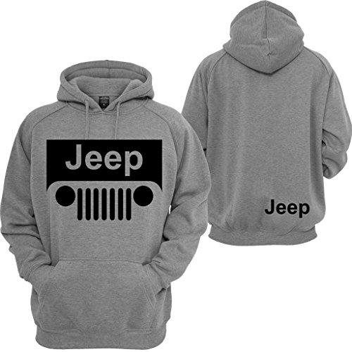 Sweatshirt Beer Hoodie Mens (Jeep Hoodie Motocross Wrangler Cherokee Cars Jeep Beer Pullover Sweatshirt)