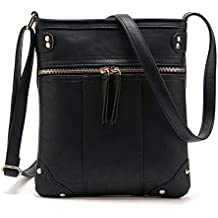 Duketea Small Crossbody Purse for Women, Faux Leather Crossover Shoulder Bag for Teen Girls