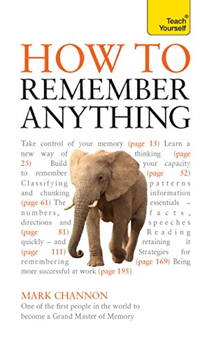 How to Remember Anything: Teach Yourself