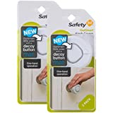 Safety 1st OutSmart Knob Covers, 4 Pack, White