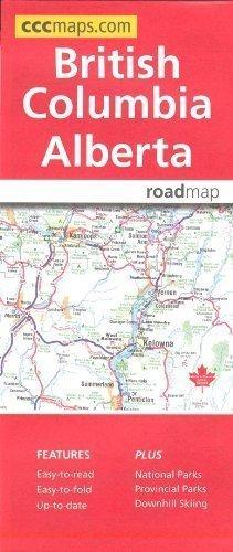 British Columbia & Alberta, Road Map