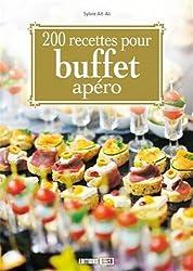 200 recettes pour buffet apéro