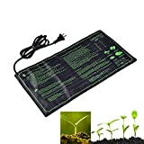 Leagway Seedling Heat Mat, 20'' x 10'' Warm Hydroponic Heating Pad with Durable Waterproof Design, Multifunction Seed Starter Heating Mat for Indoor Home Gardening & Seed Germination