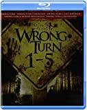 Wrong Turn 1+2+3+4+5 Bd [Blu-ray]
