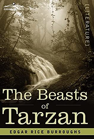 book cover of The Beasts of Tarzan