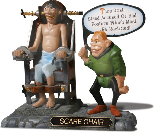 Weird Oh's Medieval Torture Chair