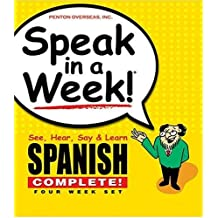 Speak in a Week! Spanish Complete!: See, Hear, Say & Learn. 4 Cd's & 4 Wire-o Books