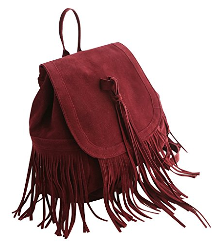 Maomaobag - Crossed Red Bag Red Woman