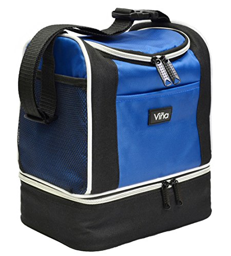 3-in-1 Cooler Box (Blue) - 8