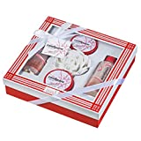 Candycane- Peppermint 5 pieces gift set in red and white box Review