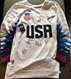 2018 Team Usa Womens Hockey Gold Medal Olympic Signed Autograph Official Jersey - Autographed NHL Jerseys
