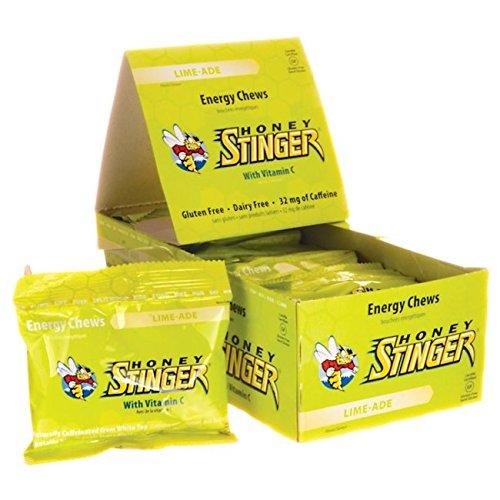 Honey Stinger Energy Chews - Lime-Ade 12/1.8 oz (50 g) Pkts (Honey Blended)