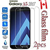 [2-Pack] Samsung Galaxy A5 2017 Tempered Glass LCD Screen Protector Film Guard