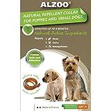 ALZOO Natural Repellent Flea & Tick Collar for Dogs 1-oz box 1-count