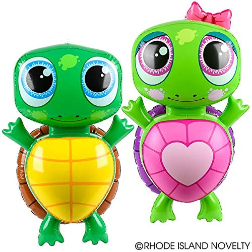 Two Adorable Inflatable Turtles 24