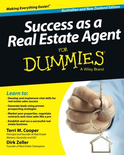 Success as a Real Estate Agent for Dummies, Australian & New Zealand Edition (Success As A Real Estate Agent For Dummies)