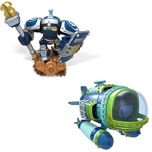 Skylanders Superchargers Characters and Vehicles. Includes High Volt and Dive Bomber. Epic Adventures Await with This Pack of Figures for Skylanders Superchargers.