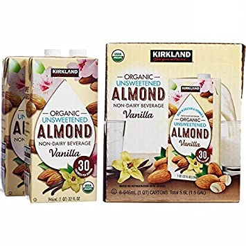 Amazon.com: Kirkland Signature Vainilla orgánica sin azúcar ...