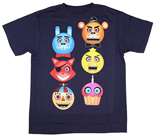 Five Nights at Freddys Boys Freddy Fazbear Glow in the Dark T-Shirt Size 14, ()