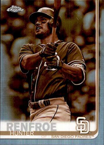 Hunter Renfroe San Diego Padres 2019 Topps Chrome SEPIA REFRACTOR #3 MLB Baseball Card ()