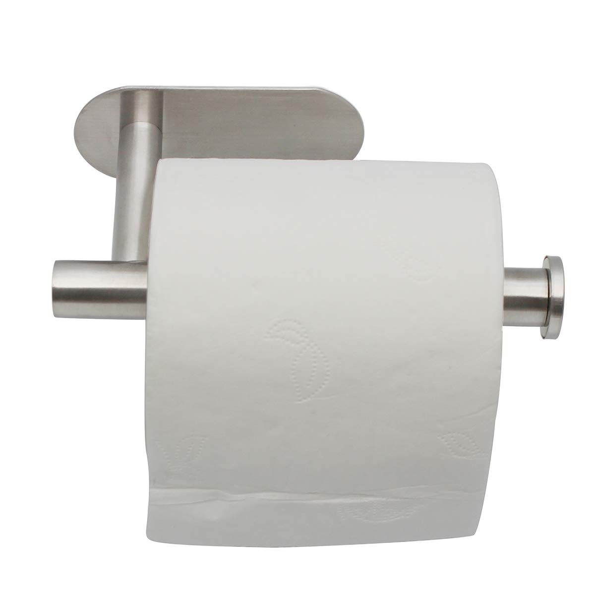 Toilet Paper Holder 3M Self Adhesive Bathroom Paper Towel Roll Holder Wall Mount - Toilet Roll Holder SUS 304 Stainless Steel Can Remove