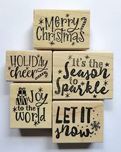 Christmas Rubber Stamp Set ()