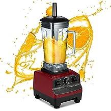 Decdeal Multi-functional Food Processer for Vegetables Fruit Five Cereals Juice Machine Ice Crusher Juicer 100-120V 2200W 2L