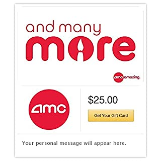 AMC Theatres Birthday Gift Cards - E-mail Delivery (B00NU7RFOE) | Amazon Products