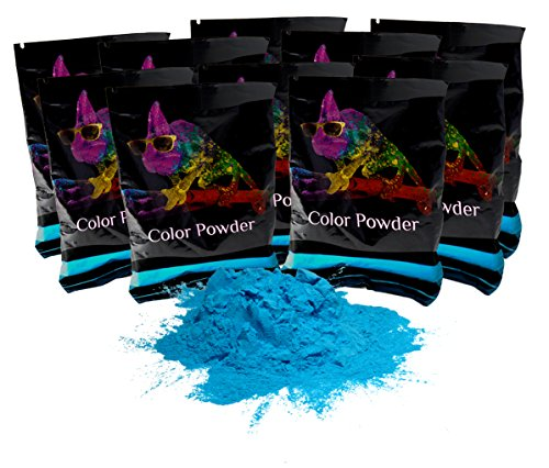 - Holi Powder True Blue 10 Pack of 70 Grams Each