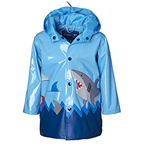 Wippette Boys & Toddlers Rain Jacket With Shark Print