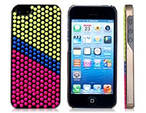 Joyroom Neon Dot Decoration Plastic Case for iPhone 5