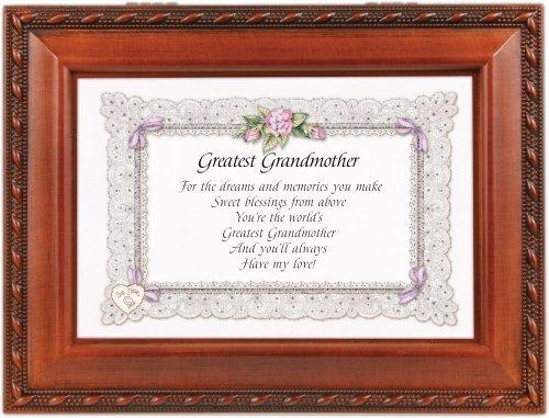 本物品質の Greatest Grandmother Grandma Woodgrainミュージカル音楽ジュエリーボックスPlays Wind Beneath Wings Garden by Beneath Cottage Greatest Garden B017O6YUPI, 岩出山町:5a84cbfe --- arcego.dominiotemporario.com