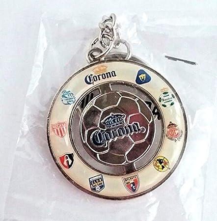 Corona Beer Soccer Ball /& Team Advertising Promo Metal Key Chain New
