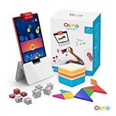 Osmo learning games makes it fun for children to learn, using toys as teaching tools. Osmo is magic! In 2013, Osmo created a fun-filled & Award winning learning games that interact with actual hand held pieces & an iPad and/or fire ta...